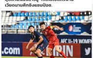Truyền thông Thái Lan: Quá đau đớn, Voi chiến lại gục ngã trước Việt Nam trên sân nhà