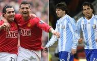 Sự khác biệt giữa Ronaldo và Messi trên sân tập