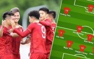 Đội hình ra sân U22 Việt Nam đấu Indonesia: 'Thầy Chíp' và Maldini Đông Nam Á
