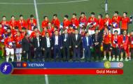 Đây, hình ảnh đáng chia sẻ nhất khi Việt Nam vô địch SEA Games