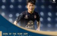 CHÍNH THỨC: Lương Xuân Trường nhận giải thưởng danh giá từ Thai-League
