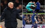 Thi nhau 'ra cước', phải chăng Mourinho dạy Kung Fu cho các cầu thủ Tottenham?