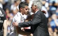 Bom tấn đầu tiên của Ancelotti: 'Kẻ thất sủng' tại Real Madrid