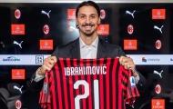 Ibrahimovic, Pirlo và những cầu thủ từng khoác áo số 21 tại AC Milan