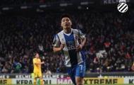 'Maradona Trung Quốc' lóe sáng, Barca bị đội bét bảng cầm hòa