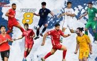 Top 8 cầu thủ xuất sắc lượt 2 vòng bảng: U23 Việt Nam góp 1 cái tên