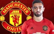 Xác nhận thời hạn hợp đồng giữa Bruno Fernandes và Man Utd