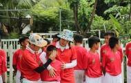 Hành trình đáng nhớ của hai bảo mẫu Diệu Nhi, Don Nguyễn tại Cầu thủ nhí 2019
