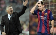 Ancelotti đề cập khả năng Messi tới EPL
