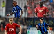 8 cầu thủ từng khoác áo Man Utd và Inter Milan: Lukaku, Ibrahimovic và ai nữa?