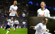11 cầu thủ ghi nhiều bàn thắng nhất cho Tottenham ở đấu trường châu Âu: Kane, Berbatov đứng thứ mấy?