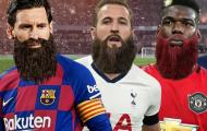 Những ngôi sao đình đám sẽ ra sao nếu có thêm râu?