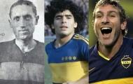 Maradona, Palermo và những cầu thủ huyền thoại chơi cho Boca Juniors