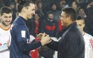 'Siêu đội hình' chưa từng vô địch C1: 'King Zlatan' sát cánh với thần tượng