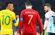 Huyền thoại 'lá vàng rơi' chỉ ra lý do Neymar thua kém Messi, Ronaldo