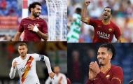 12 ngôi sao Premier League gia nhập AS Roma trong giai đoạn 2013 - 2020: Salah, Smalling và ai nữa?