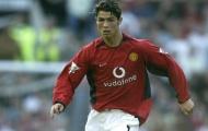 Cuộc tiến hóa cơ bắp của Ronaldo tại MU