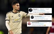CĐV Man Utd: 'Thật tuyệt, tôi sẽ trả tiền vé máy bay cho cậu ấy về Brazil'