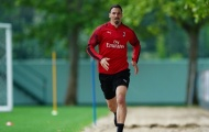 Ibrahimovic rạng rỡ khi trở lại AC Milan