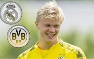 Real đưa 7 cầu thủ 'dụ dỗ' Dortmund trao đổi Erling Haaland