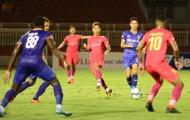 'Chelsea Việt Nam' đổ bê tông, giành 1 điểm trước Sài Gòn FC