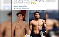 Đặng Văn Lâm 'mất' cơ bụng 6 múi, CĐV Thái Lan hả hê so sánh với Kawin