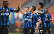 Sanchez chấm dứt chuỗi 16 trận 'tịt ngòi', Inter vùi dập đối thủ bằng 1 set tennis