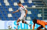 Zlatan lập cú đúp đẳng cấp, AC Milan vào top 5