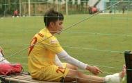 'Văn Toàn 2.0' bất ngờ dính chấn thương trong trận đấu nội bộ U22 Việt Nam