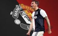 """Man Utd, Juventus và cả châu Âu đang """"lãng quên"""" Mandzukic?"""