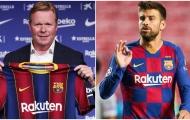 Koeman sẽ chính thức ra mắt Barca trong trận gặp đội bóng của Pique