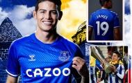 James Rodriguez chọn số tại Everton, nhắc nhớ kỷ niệm ngọt ngào cùng Porto