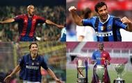 14 cầu thủ từng khoác áo Barca và Inter (Phần 1): Quá nhiều 'sát thủ'