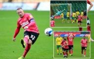 Sút phạt đẳng cấp, Wayne Rooney giúp Derby thắng nghẹt thở Norwich