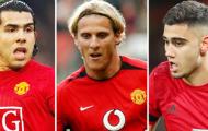 Nhìn lại 11 ngôi sao Nam Mỹ nổi bật nhất của Man United