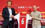 CHÍNH THỨC: Ajax mua được cầu thủ 'xịn' thay thế Van de Beek