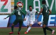 Lionel Messi mờ nhạt, đối thủ khiến Argentina choáng váng ở độ cao hơn 3000m