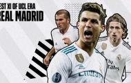 Đội hình bá đạo nhất của Real ở kỷ nguyên Champions League