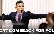 Cười té khói với loạt ảnh chế Ronaldo tái xuất