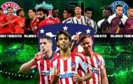 'Cây đinh ba' của Atletico Madrid đáng sợ thế nào so với phần còn lại?