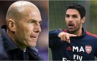Vì sao Zidane lại muốn cướp 'người trong mộng' của Arteta?