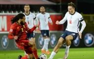 10 thống kê ấn tượng trận Bỉ 2-0 Anh: 'Máy cày' Grealish quá đỉnh