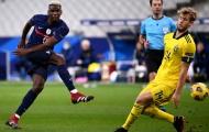 Thống kê đẳng cấp của Paul Pogba trong ngày Pháp giành vé bán kết
