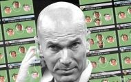 Đi tìm bộ 3 tiền vệ trong mơ của Zinedine Zidane