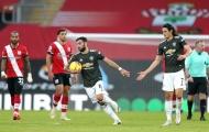 Cavani gỡ hòa cho Man Utd, Fernandes 'gây bão' với phản ứng khác biệt