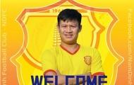 Nâng cấp hàng công, DNH Nam Định tậu tân binh từ SHB Đà Nẵng