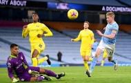 Thắng dễ Fulham, Man City giờ đã ở ngay sau Man Utd