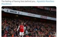 Arsenal thua thảm, Mesut Ozil gửi thông điệp đến người hâm mộ