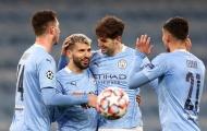 Aguero trở lại, ghi bàn giúp Man City đại thắng Marseille