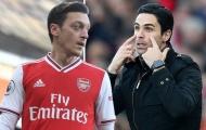 Huyền thoại Arsenal yêu cầu đưa Ozil trở lại, Arteta lập tức có câu trả lời